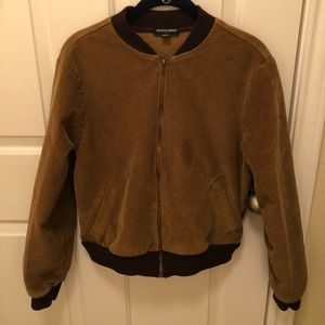 Medium Tan Corduroy Jacket from American Apparel